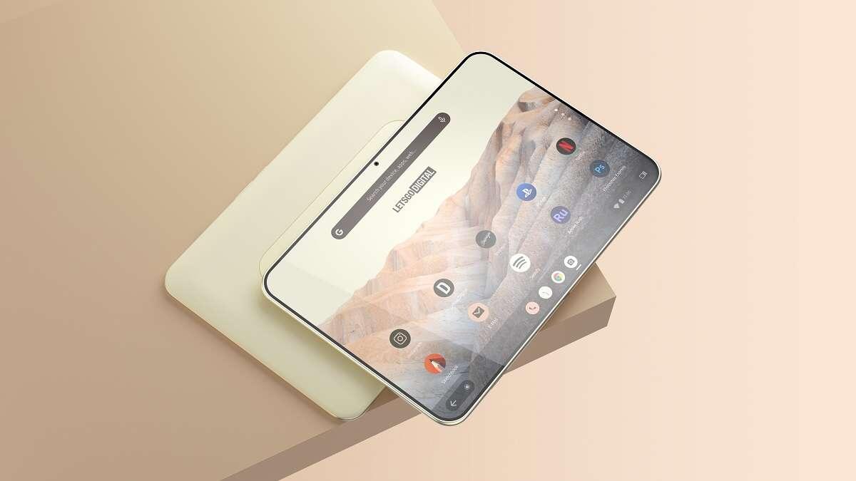 Google patentuje tablet Pixel, a pierwsze rendery