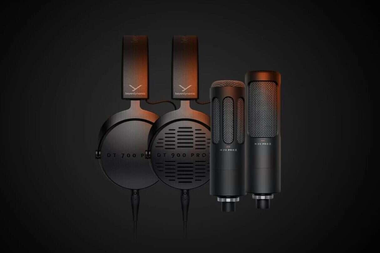 beyerdynamics Pro X, słuchawki beyerdynamics Pro X, mikrofon beyerdynamics Pro X