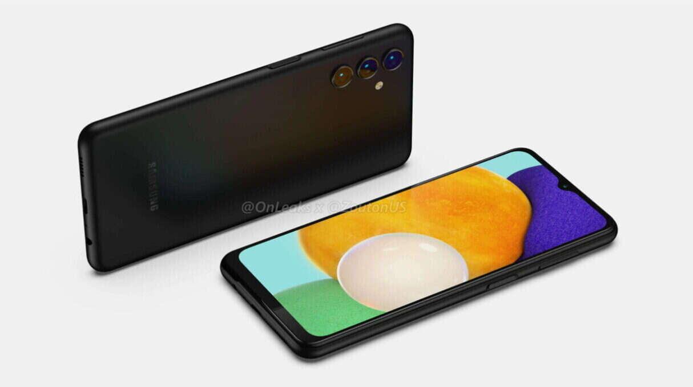 Galaxy A13 5G pozuje na renderach